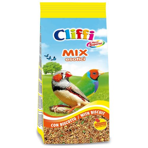 Cliffi корм New Superior Mix Esotici с бисквитом для экзотических птиц 1000 г