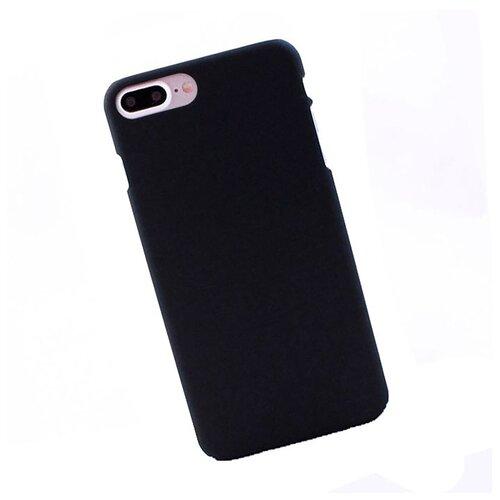 Чехол для iPhone 7 PLUS / 8 PLUS пластиковый прорезиненный черный