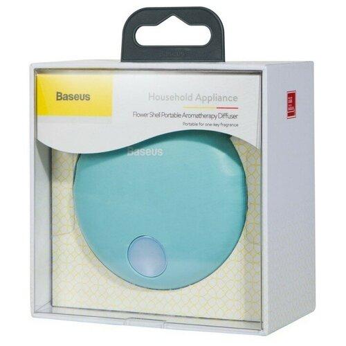 Baseus Ароматизатор для автомобиля Flower shell Portable Aromatherapy Diffuser Blue baseus car air freshener purifier full metal mini aromatherapy air purification aromatherapy