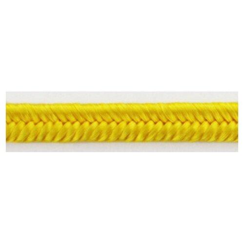 Шнур-сутаж PEGA, желтый, 3 мм 100% вискоза