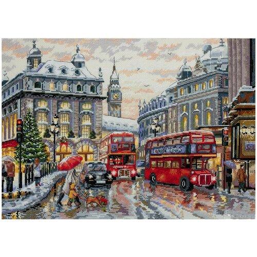 Купить Мережка Набор для вышивания Лондон 30 х 40 см (K-159), Наборы для вышивания