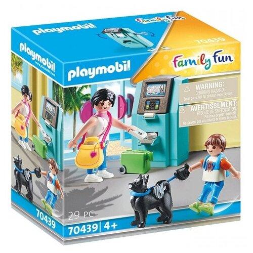 Купить Конструктор Playmobil Family Fun 70439 Туристы с банкоматом, Конструкторы