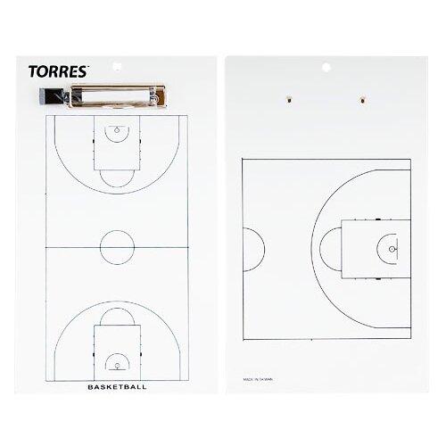 Тактическая доска для баскетбола TORRES, арт.TR1003B