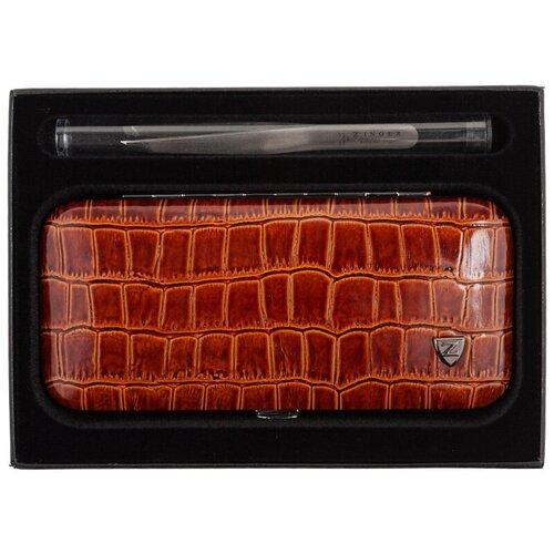 Маникюрный набор (MSFE-501-S) коричневый, ZINGER  - Купить