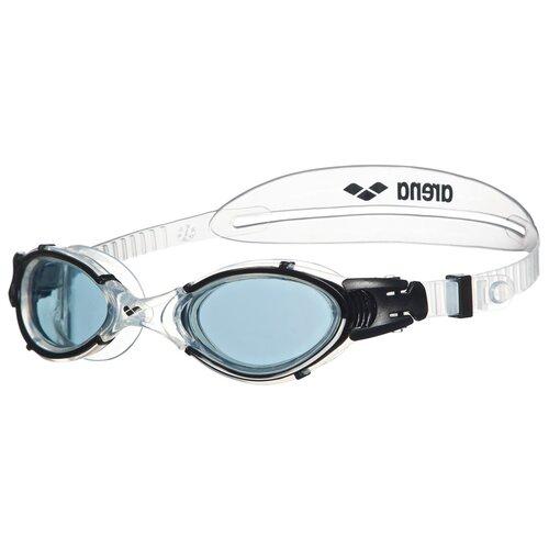 Фото - Очки для плавания arena Nimesis Crystal, smoke-clear-black очки для плавания arena zoom neoprene 92279 black clear black