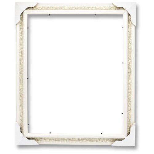 Купить Рама багетная для картины на подрамнике 30х40, VRBVZ1/молочный, LaKarti, Рамки