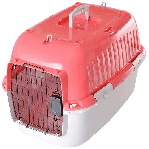 Фото - Клиппер-переноска для кошек и собак Fauna International Explorer Sport 38х38х57 см розовый/серый клиппер переноска для собак imac linus cabrio 50х32х34 см розовый