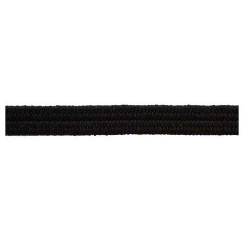 Купить Резинка продежка, 2, 6 мм, цвет черный 36% латекс, 64% полиэстр, PEGA, Технические ленты и тесьма