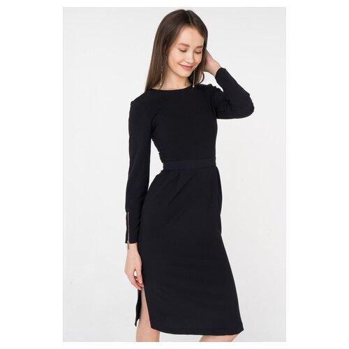 платье befree 1911090507 женское цвет красный 70 однотонный р р 42 xs 170 Платье befree 1911084504/ женское Цвет Черный 50 Однотонный р-р 46 M/170
