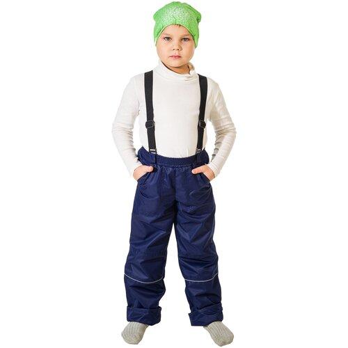 Купить Брюки Филиппок 6240 размер 134 цвет темно синий, Полукомбинезоны и брюки