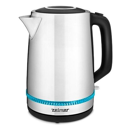 Чайник Zelmer ZCK7921, черный/серебристый