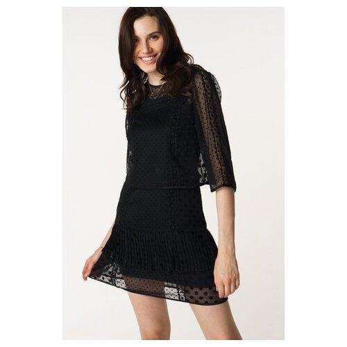 Платье Scotch & Soda 133.18FWLM.0988146615.08 женское Цвет Черный Однотонный р-р 46 M