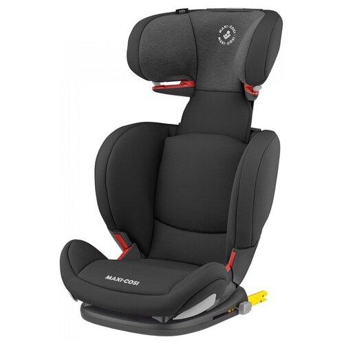 Автокресло группа 2/3 (15-36 кг) Maxi-Cosi Rodi AP Fix, authentic black автокресло группа 1 2 3 9 36 кг little car ally с перфорацией черный