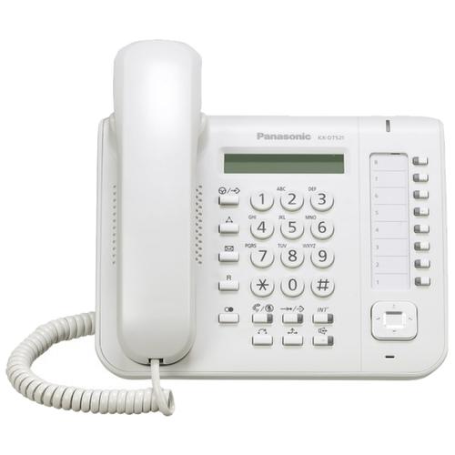 Системный телефон Panasonic KX-DT521 белый