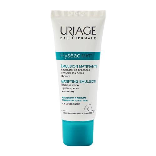 Uriage Hyseac Mat Эмульсия для лица матирующий уход для комбинированной и жирной кожи, 40 мл