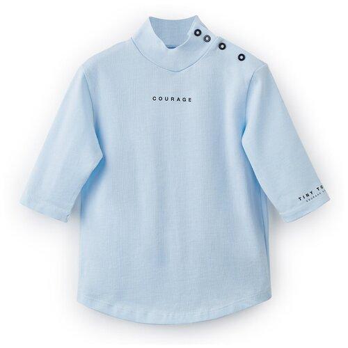Купить 88088 Водолазка Happy Baby из хлопкового трикотажа, light blue, 86 , Джемперы и толстовки
