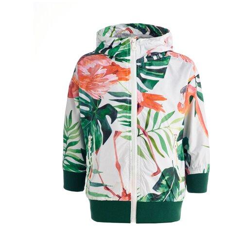 Купить Ветровка Button Blue 119BBGC4003 размер 158, белый, Куртки и пуховики