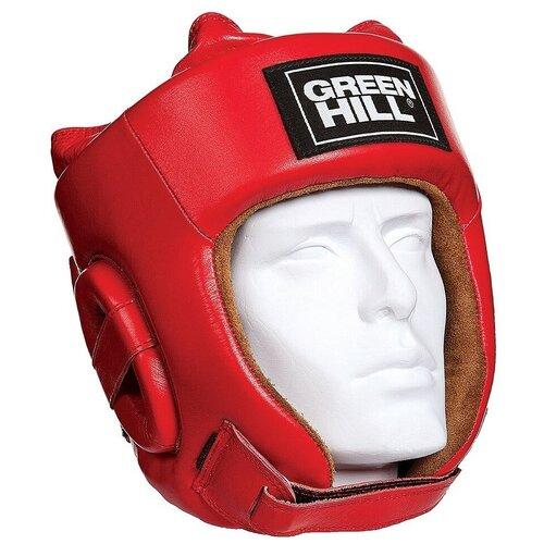 Шлем боксерский Green hill HGF-4013fs, р. XL, красный