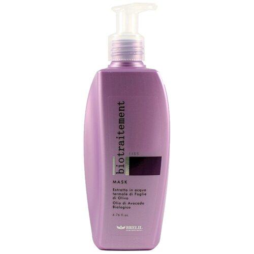 Brelil Professional BioTraitement Liss Маска для волос разглаживающая, 200 мл