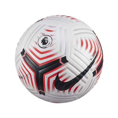 Футбольный мяч NIKE Flight Premier League белый 5 nike бутсы для мальчиков nike phantom venom academy tf размер 34 5