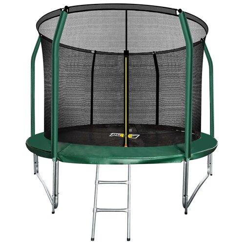 Каркасный батут ARLAND 10FT Inside Premium 305х305 см темно-зеленый