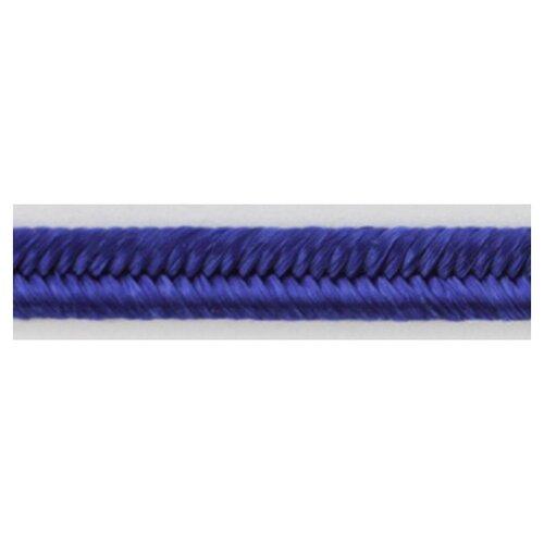 Шнур-сутаж PEGA, королевский синий, 3 мм 100% вискоза