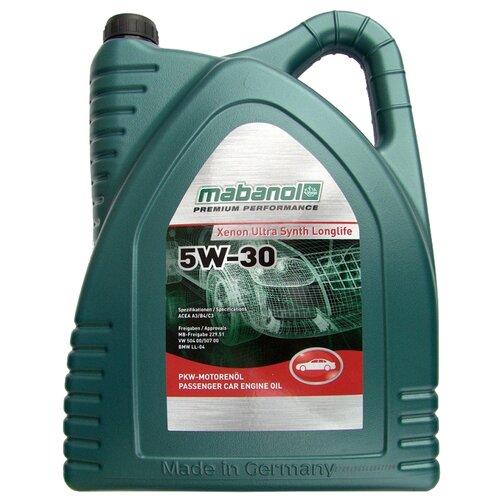 Синтетическое моторное масло Mabanol Xenon Ultra Synth Longlife 5W-30 5 л