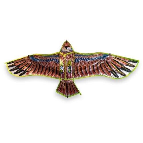 Воздушный Змей Орёл BestToy Сине-Красный 115см