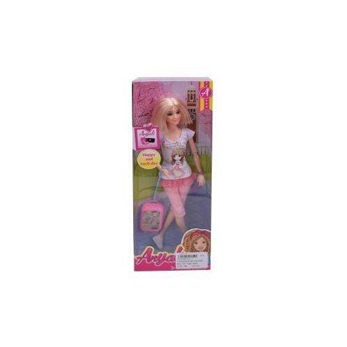 Купить Кукла 29 см с чемоданом, в компл.2 предм., Наша Игрушка 302-4, Наша игрушка, Куклы и пупсы