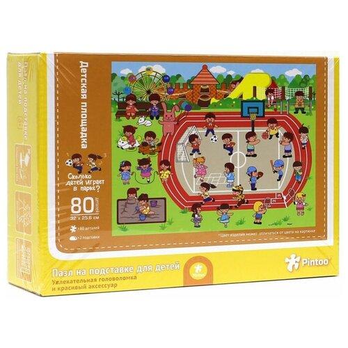 Пазл ГеоДом Детская площадка (4607177452388), 80 дет.