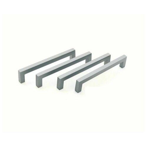 Комплект 4 ручек мебельных Inred графит IN.01.1132.128.GF