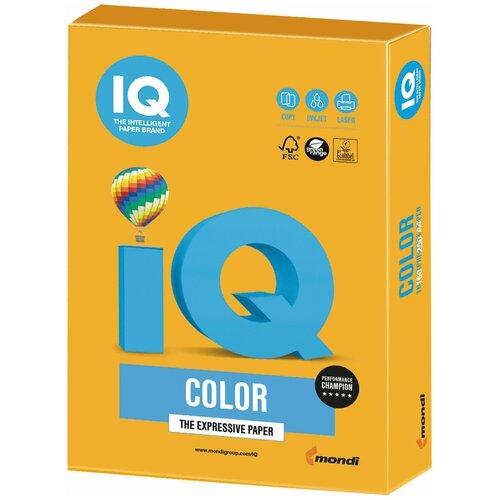 Фото - Бумага IQ Color А4 160 г/м² 250 лист., старое золото AG10 бумага iq color а4 color 120 г м2 250 лист оранжевый or43 1 шт