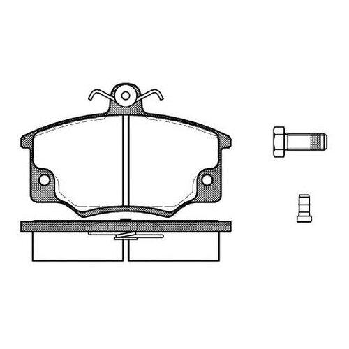 Комплект тормозных колодок Roadhouse 2146.44
