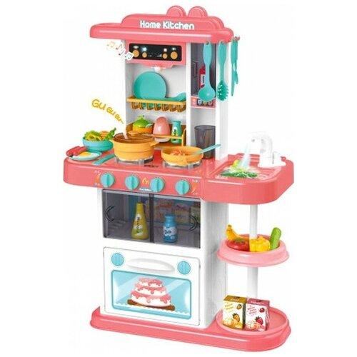 Купить Кухня Junfa toys 889-166 белый/голубой/розовый, Детские кухни и бытовая техника