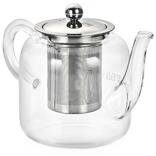 Taller Заварочный чайник Тайрон TR-1371 800 мл, прозрачный 1360 tr чайник заварочный taller 600 мл