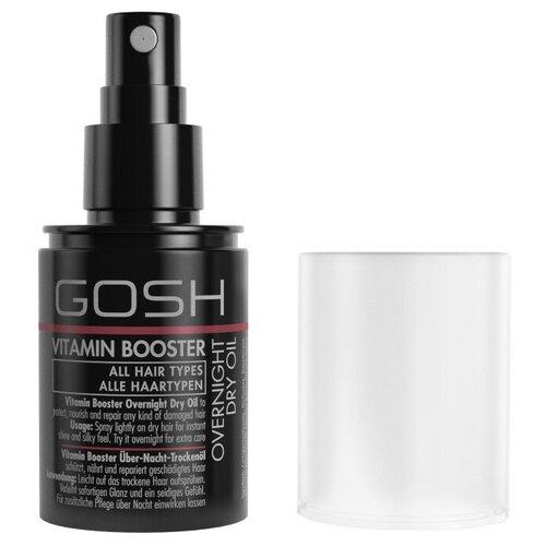 Фото - GOSH Vitamin Booster Overnight Dry Oil Восстанавливающее сухое ночное масло для волос, 75 мл ночное восстанавливающее масло для лица vinosource hydra 30мл