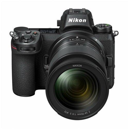 Фото - Фотоаппарат Nikon Z7 Kit черный Nikkor Z 24-70mm f/4S фотоаппарат nikon z5 kit 24 50 f 4 6 3 c адаптером ftz