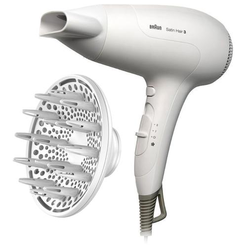 Фен Braun HD 385 Satin Hair 3, белый