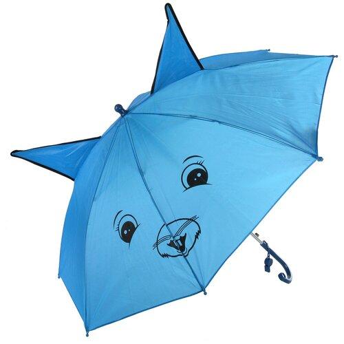 Зонтик детский трость, 58см Amico 102381