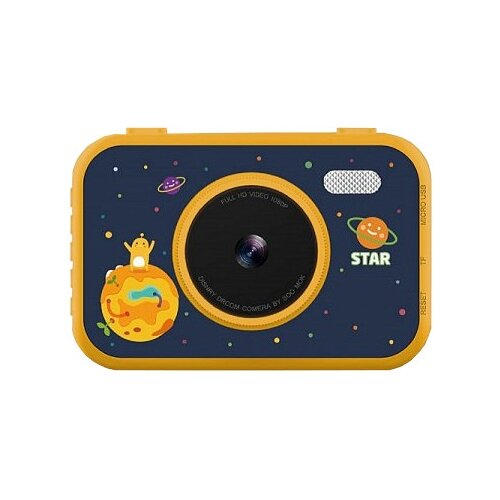 Фото - Фотоаппарат Children's Fun Camera Let time stop S5 желтый фотоаппарат children s fun camera микки с wi fi красный