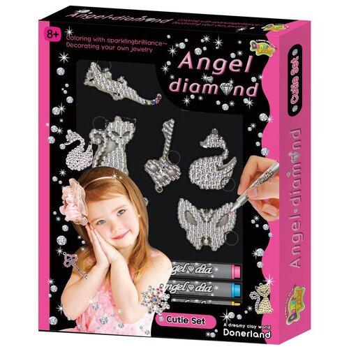 Donerland набор для создания украшений Angel Diamond. Cutie Set cutie stix дополнительный набор стиков для мастерской украшений 33100