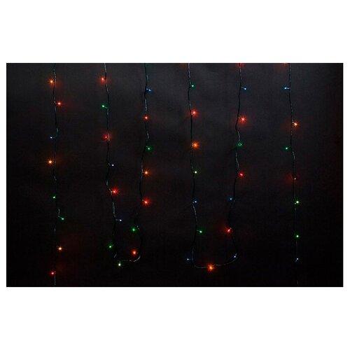 Гирлянда Волшебная страна нить PR/R-100-10-MC, 1000 см, 100 ламп, разноцветный/зеленый провод 0 pr на 100