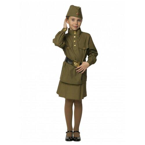 Купить Костюм Гимнастерка с юбкой (5705), 104-110 см., Вестифика, Карнавальные костюмы