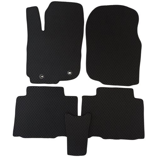 Автомобильные коврики EVA (ЕВА) для Toyota RAV4 / Тойота Рав 4 IV (СA40) с 2013, чёрные