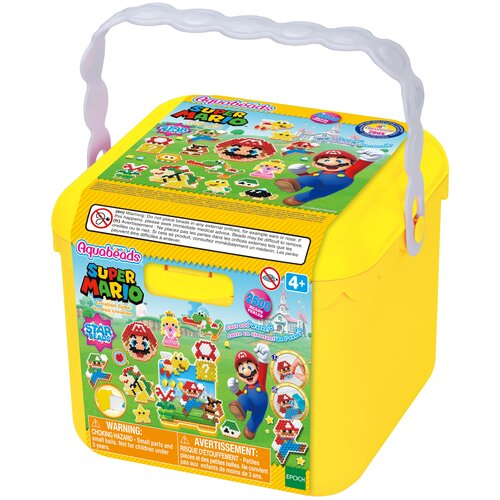 эпоха чудес набор для творчества aquabeads золотые украшения Набор для творчества «Супер Марио»