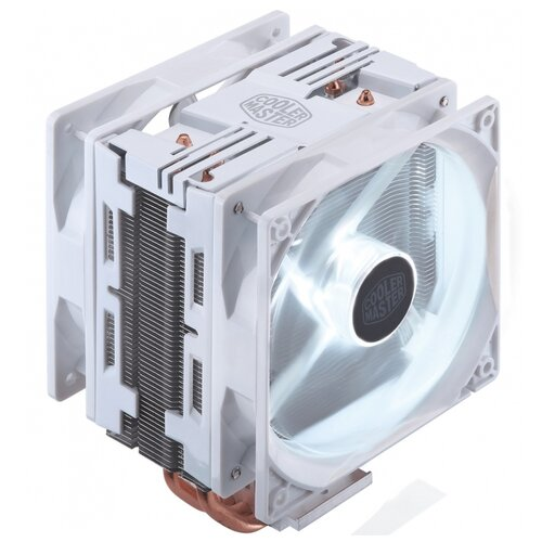 Кулер для процессора Cooler Master Hyper 212 LED Turbo white edition кулер для процессора cooler master hyper 212 led turbo red top cover