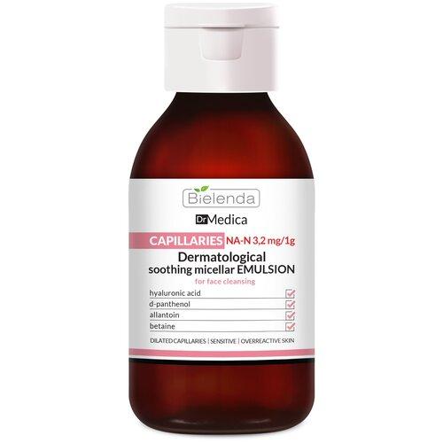 Bielenda успокаивающая мицеллярная эмульсия для очищения кожи лица Dr. Medica, 250 мл