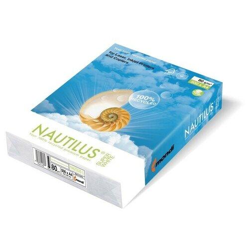 Фото - Бумага NAUTILUS Superwhite A4 80 г/м² 500 лист., белый водяной полотенцесушитель grota kamelo 50 80