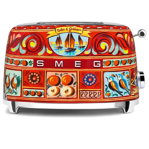Тостер на 2 ломтика Dolce & Gabbana Smeg TSF01DGEU