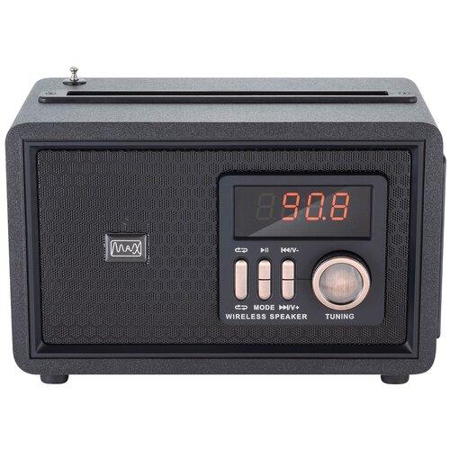 Портативная аудиосистема с Bluetooth MAX MR-361 Black